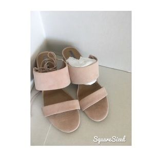 Tahari pink lace up shoes size 8